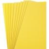 Foam Sheet (Eva) 9'' x 12'' Yellow - Pack of 10 pieces